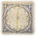 żółta nowa bawełniana chusteczka