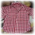 koszula w kratkę na 2 latka