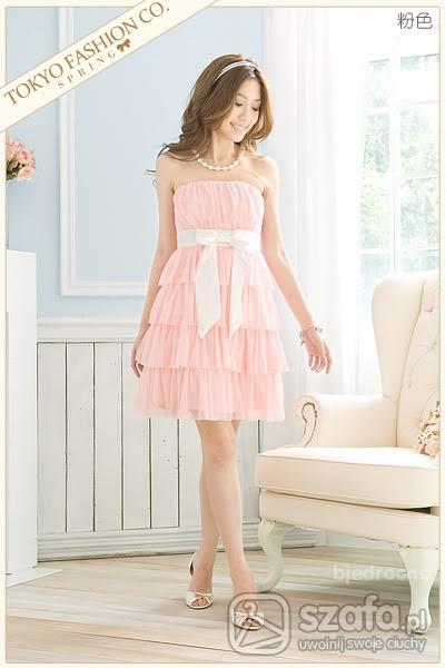 Romantyczne Sukienka Japan Style szukam butów do niej 39
