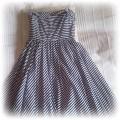 Sukienka w paski marynarska atmosphere
