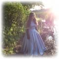 niebieska balowa