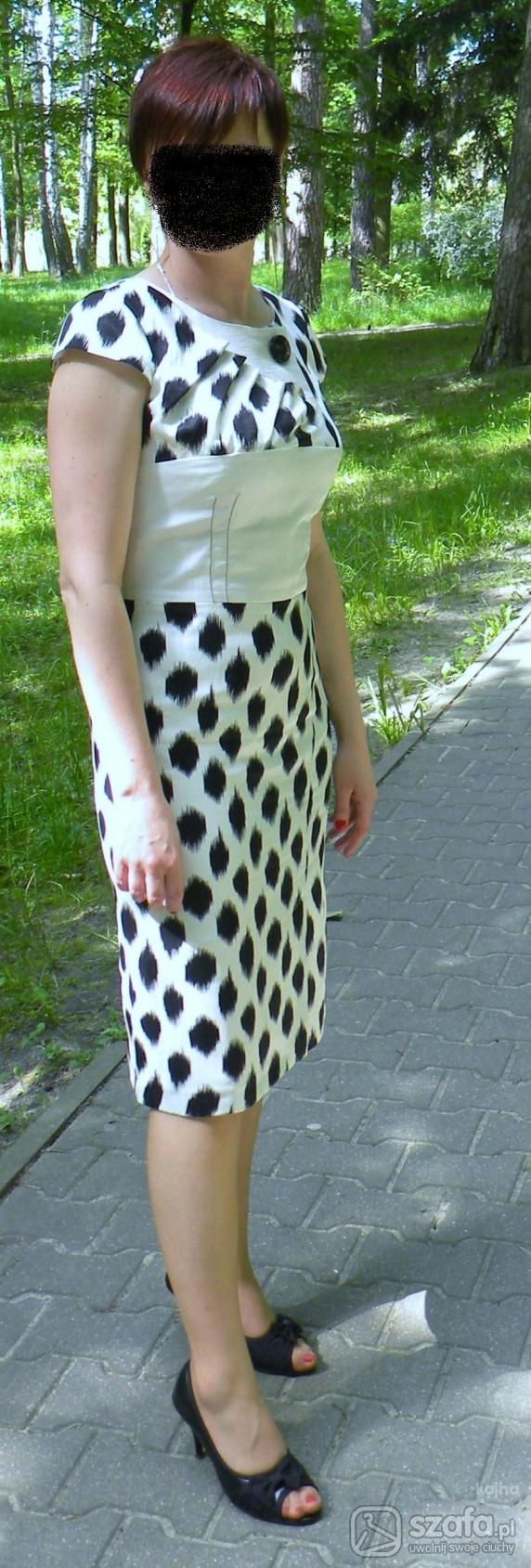 Imprezowe sukienka i buty