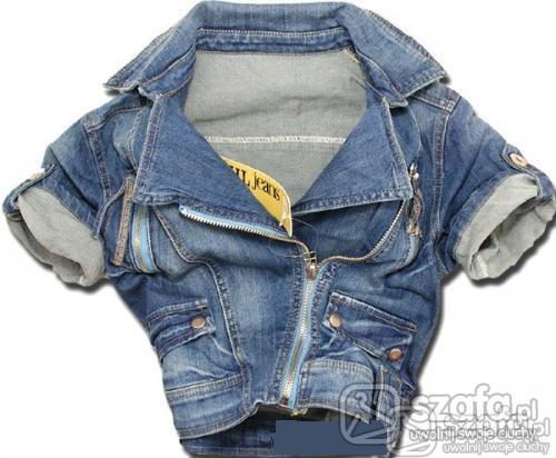Do szkoły jeans kurteczka