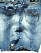 spódniczka jeans pencil