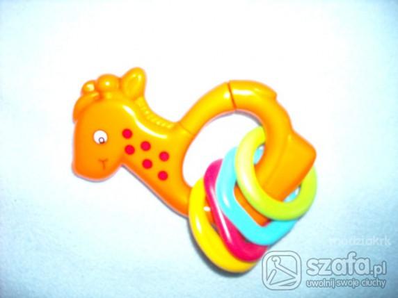 Zabawki grzechotka żyrafa