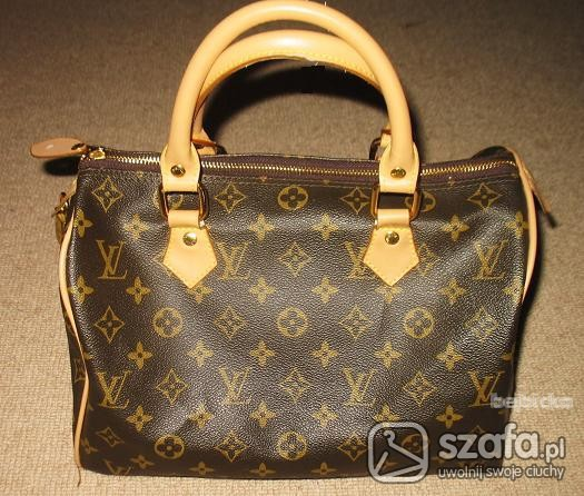 e0cd6776f5b7f Louis Vuitton kuferek LV Speedy torebka bag w Torebki na co dzień ...