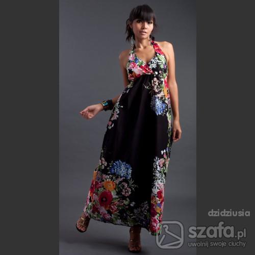 d5bb58de1ebd Długa sukienka bawełniana w sam raz na lato w Suknie i sukienki ...