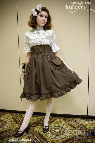 Mój styl Steampunk Lolita