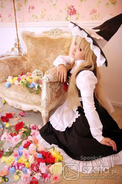 Mój styl Maid Lolita