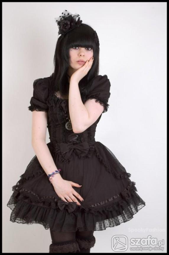 Mój styl Kuro Lolita