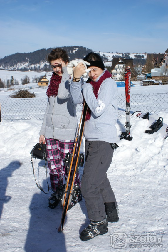 Sportowe narty narty narty