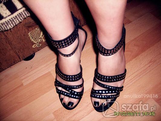 Imprezowe moje buty z ćwiekami