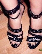moje buty z ćwiekami