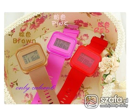 JELLY WATCH rozne kolory