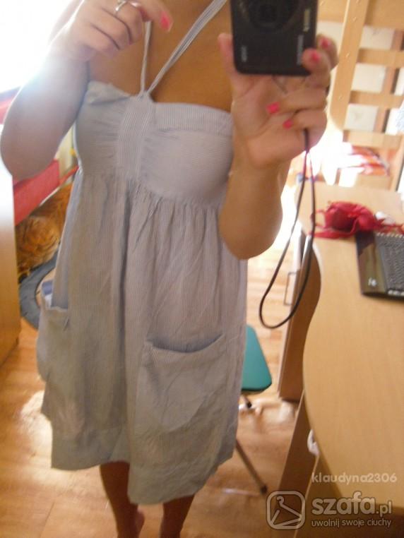 Mój styl letnia sukieneczka w paski