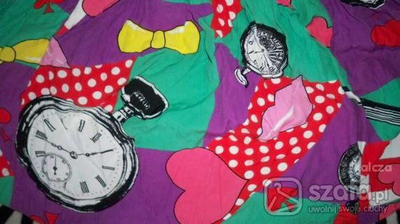 Spódnice kolorowa spódniczka retro