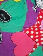 kolorowa spódniczka retro