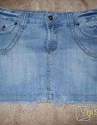 jeansowa mini rozmiar 31 ok 40 L...