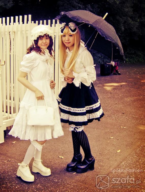Mój styl Shiro and Gothic Lolita