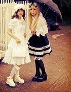Shiro and Gothic Lolita