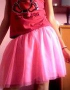 ładna różowa spódnica