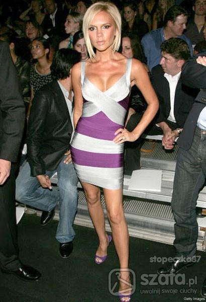 Eleganckie Victoria Beckham