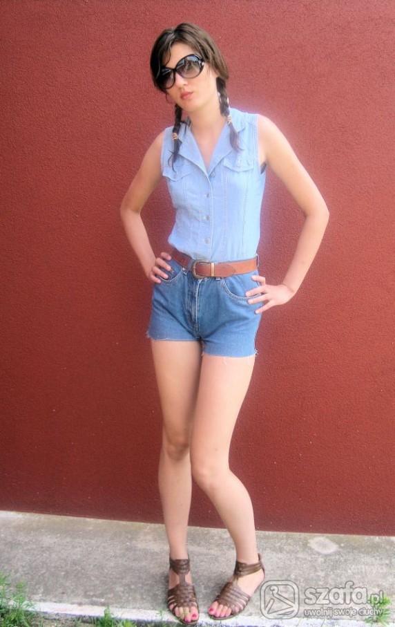 Mój styl jeans total look