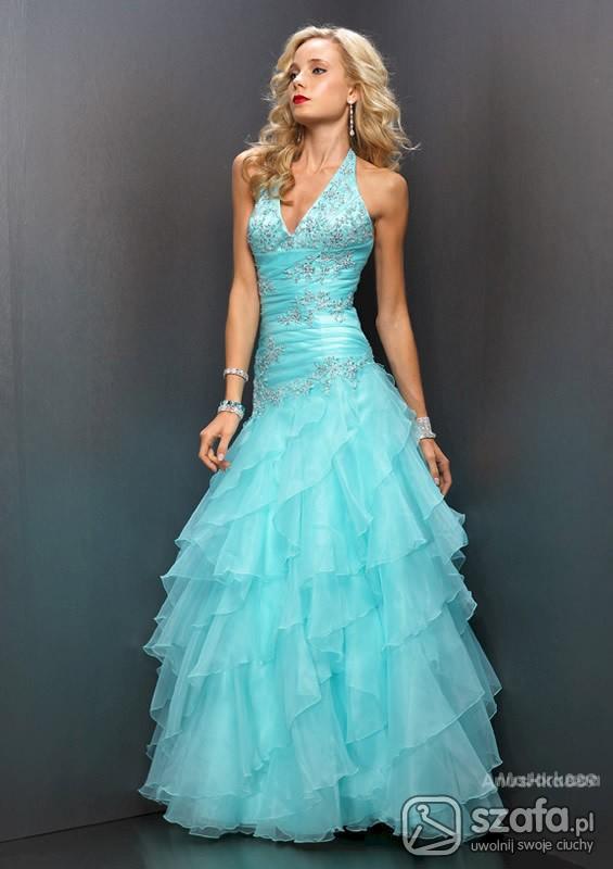 Imprezowe Piekna suknia