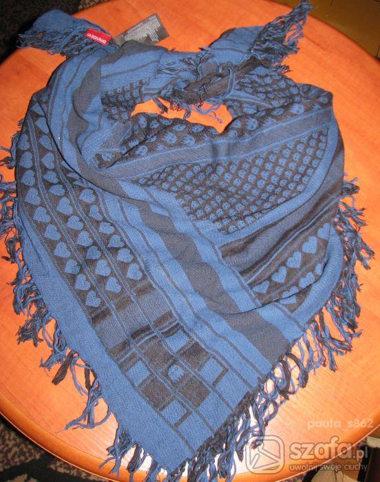 Chusty i apaszki Arafatka HM 95x95 idealny stan