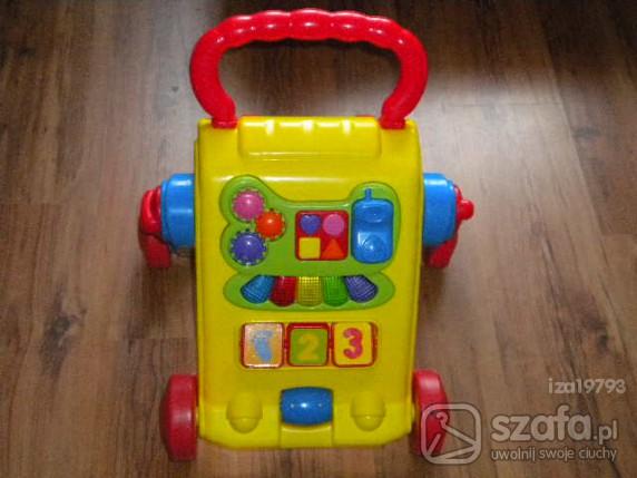 Zabawki chodzik pchacz