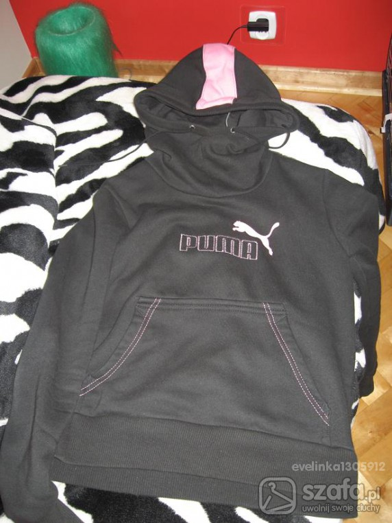 czarna bluzka puma...