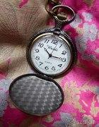 Zegarek stempunk na szyje retro vintage Quartz