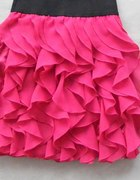 bebe floral skirt