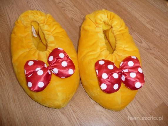 a la żółte buty myszki minnie
