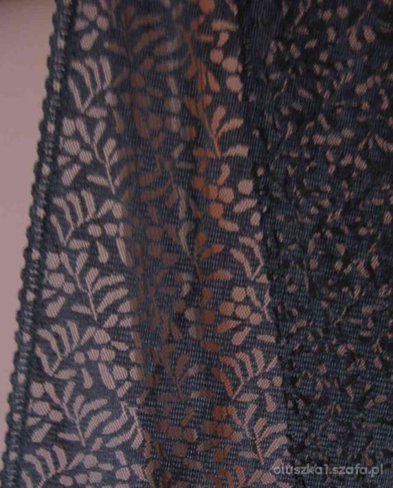 Szaliki i szale hiszpański czarny koronkowy duży szal