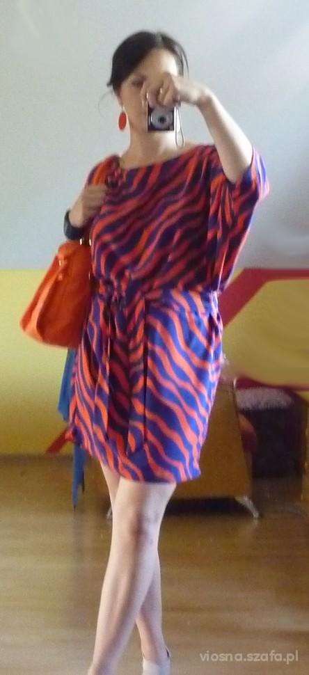 Mój styl zebra psychodeliczna