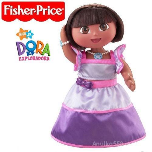 Zabawki Śpiewająca i Tańcząca Lalka Dora Fisher Price