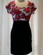 NEW LOOK Sukienka floral 40 42