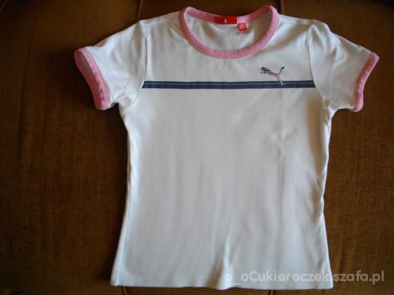 Koszulki, podkoszulki Puma dziecięca lub XS