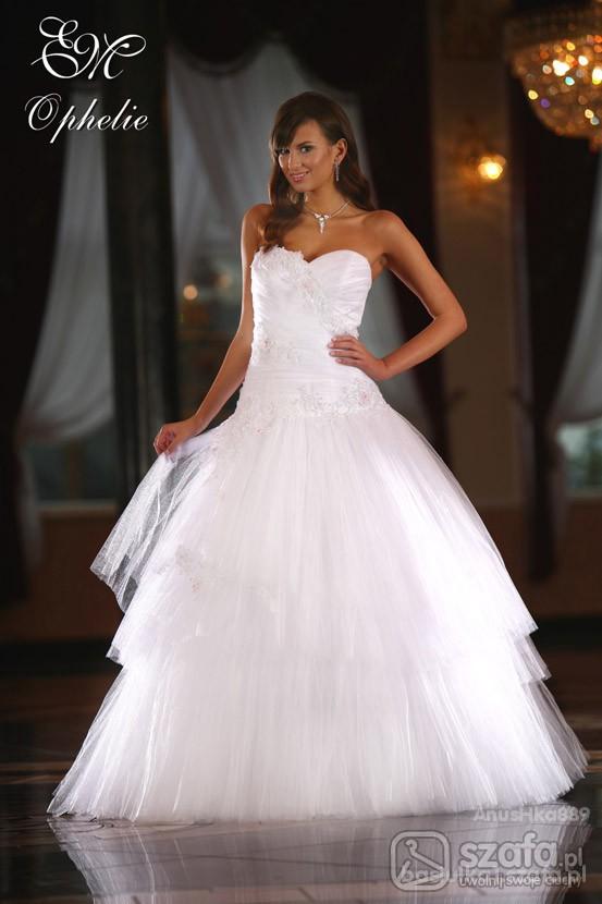 Wieczorowe Ślubne suknie