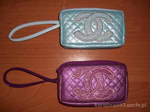 TANIO Nowe Etui Portfel Kosmetyczka Chanel