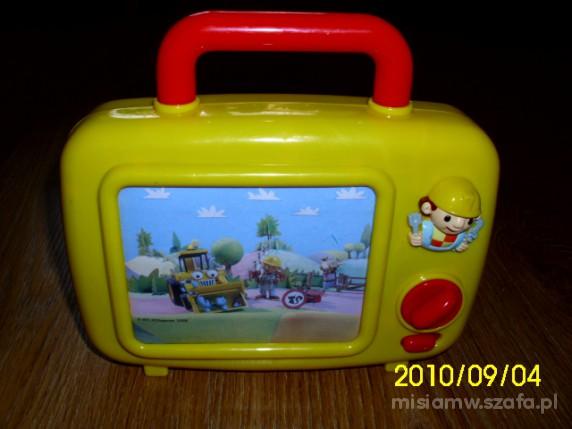 Zabawki TELEWIZOREK POZYTYWKA BOBA BUDOWNICZEGO