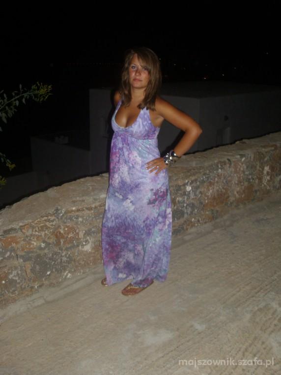 Romantyczne grecki wieczor