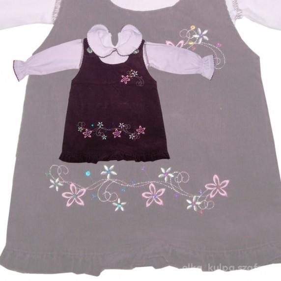 Komplety CUDO sukieneczka hafty 74 80