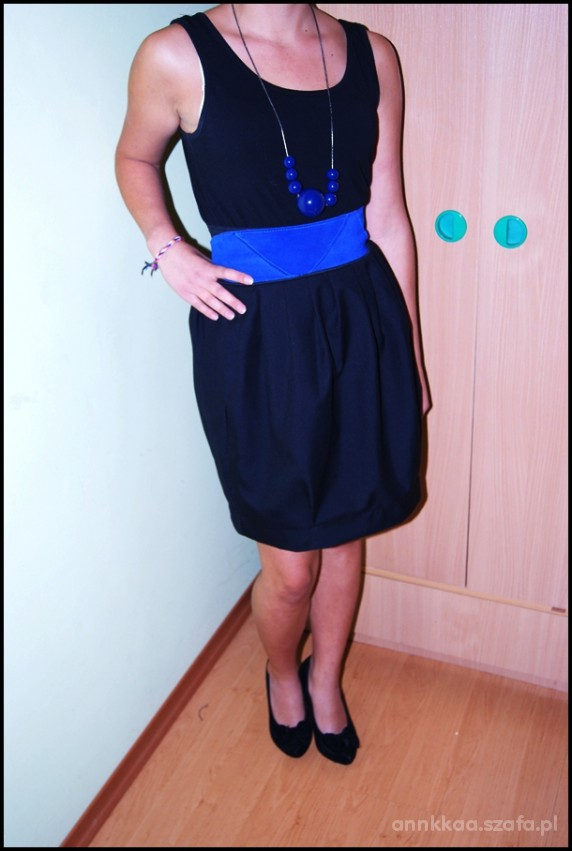 Eleganckie czarna sukienka
