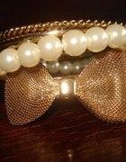 NEW LOOK bransoletki KOKARDA i perły