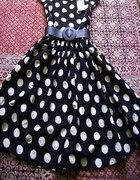 Sukienka w grochy lata 60...