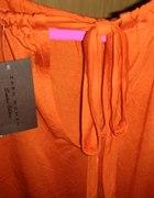 Pomarańczowa bluzka Zara