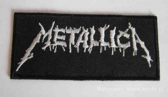 Pozostałe naszywka Metallica