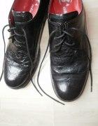 oxford shoes nowe skórzane Bata